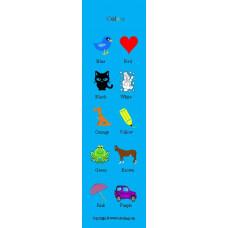 Colors Bookmark - Renkler Kitap Ayracı