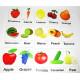 Fruits and Vegetables Magnet