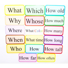 Question Words Magnet