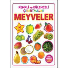 Renkli ve Eğlenceli Çıkartmalar - Meyveler